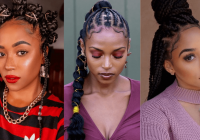 Trend 105 best braided hairstyles for black women to try in 2020 Black Braid Hair Styles Inspirations