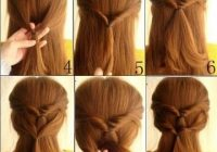 Trend 15 ways to style your ponytail pretty designs hair Easy Braided Hairstyles To Do At Home Step By Step Ideas