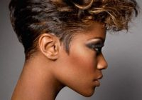 Trend 20 hot and stylish short hairstyles for african american Updos For Short Hair African American