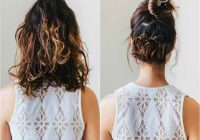 Trend 20 incredibly stunning diy updos for curly hair Cute Updo Styles For Short Curly Hair Choices