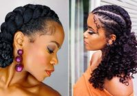 Trend 21 easy ways to wear natural hair braids stayglam Natural Hair Braid Styles Inspirations