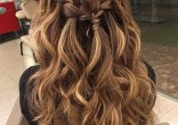 Trend 25 special occasion hairstyles long hair styles hair Prom Hairstyles For Medium Hair With Curls And Braids Inspirations