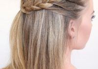 Trend 31 cute and easy braids for back to school diy projects Cute Easy Braided Hairstyles For Long Hair Ideas