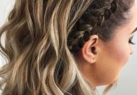 Trend 35 cute braided hairstyles for short hair lovehairstyles Cool Quick Hairstyles For Short Hair Inspirations