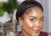 Trend 56 best natural hairstyles and haircuts for black women in 2020 Braid Hairstyles For Natural African American Hair Designs