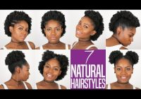 Trend 7 natural hairstyles for short to medium length natural Easy Hairstyles For Short Natural Black Hair Ideas