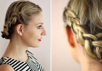 Trend 73 stunning braids for short hair that you will love Easy Braided Hairstyle For Short Hair Inspirations