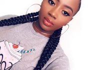 Trend 8 protective styles for women with short natural hair Braided Hairstyles For Short Natural Hair For Black Women Choices