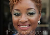 Trend african american short natural hairstyles Short African American Natural Hair Styles