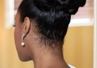 Trend ask the experts natural hairstyles for your wedding day Updos For Medium Length Hair African American Designs
