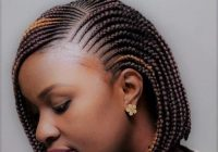 Trend best braided hairstyles for short hair black in 2019 Short Hair Braid Styles For Black Women Ideas