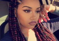 Trend box braids tumblr hair styles braided hairstyles box Jumbo Box Braids Hairstyles Tumblr Ideas