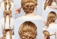Trend diy braided chignon hair long hair braids how to diy hair Long Hair Braid Updo Tutorial Choices
