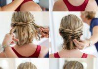 Trend hochsteckfrisuren mit anleitung zu jedem anlass und jeder Simple Hairstyles For Short Hair For Weddings Ideas