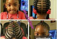 Trend im definitely braiding my daughters hair like this lil Children Hair Braided Styles Ideas