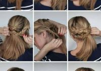 Trend multi braided updo hair styles easy braided updo hair Long Hair Braid Updo Tutorial Inspirations