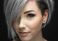 Trend pin on hair Short Gray Hair Styles Ideas