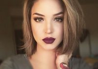 Trend short hair styles growing out a haircut is very import Makeup For Short Hair Styles Choices