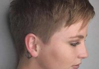 Trend super short haircuts for modern and unique look Ultra Short Pixie Haircut Choices