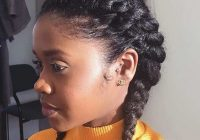 two french braids black hairstyles for kids easy braid French Braid Hairstyles For African American Hair Ideas