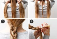 wear this hair a simple braided beauty more hair styles Easy Hairstyles For Long Hair Braids Step By Step Ideas