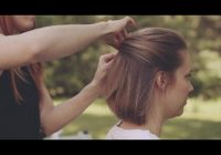 wedding hairstyles for short hair how to make an updo Wedding Guest Hairstyles Diy Short Hair Ideas
