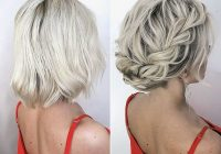 wedding hairstyles for short hair wedding to amaze Cute Short Hairstyles For Bridesmaids Ideas